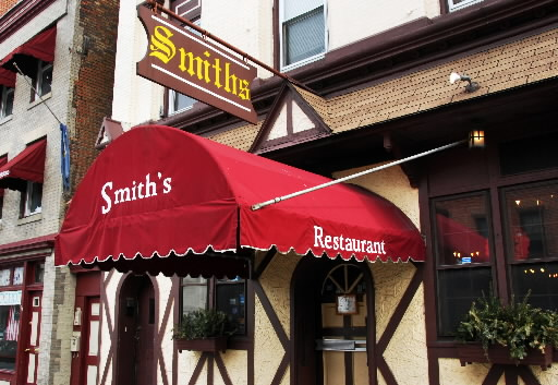 Cohoes officials hope someone will take over Smith's, which was opened in 1937 by Democratic bigwig Michael Smith. (John Carl D'Annibale / Times Union)